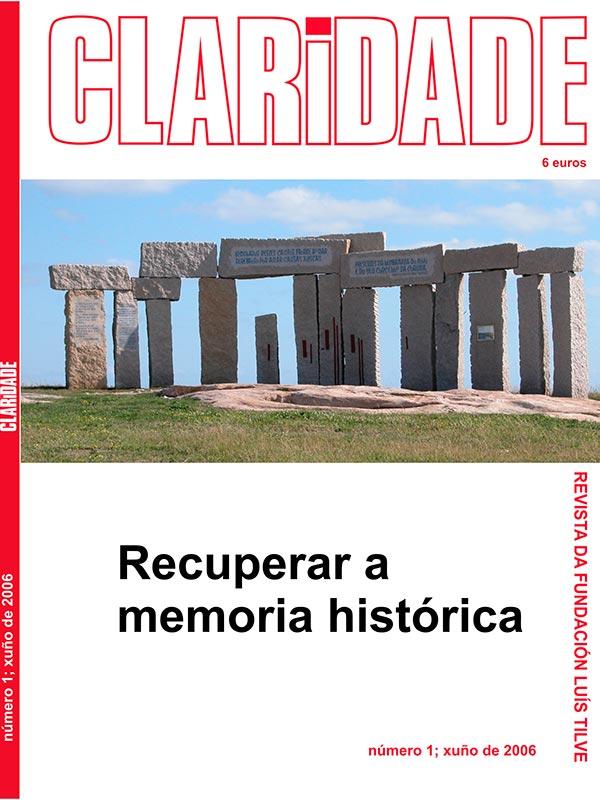Nº1 Revista Claridade - Recuperar a memoria histórica