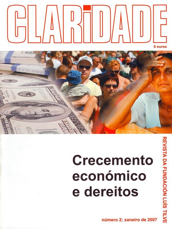 Nº2 Revista Claridade - Crecemento económico e dereitos